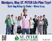 St. Peter Life Plans with Money Back, St. Peter Life Plan, Where to find St. Peter Life Plan -- All Services -- Metro Manila, Philippines
