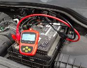 automotive car Battery ****yzer  Tester Diagnostic Tool solar power -- All Accessories & Parts -- Manila, Philippines