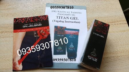 titan gel beauty products makati philippines brand new 2nd