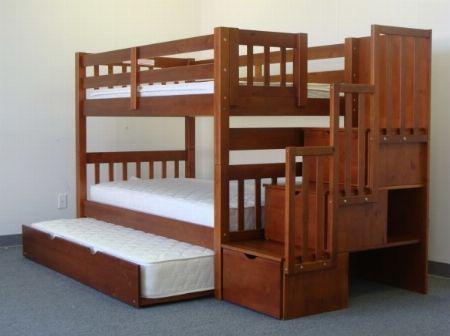 Spacesaver Espresso 3 Bunk Bed Furniture Fixture Antipolo Philippines Sales Hwc