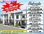 Pre selling Citadel Estate House and Lot Liloan Cebu GABRIELA MODEL -- House & Lot -- Cebu City, Philippines
