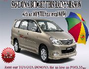 CAR RENTALS -- Other Vehicles -- Paranaque, Philippines