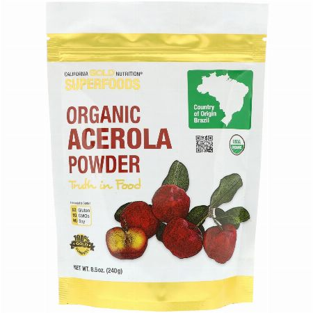 California Gold Nutrition, Superfoods, Organic Acerola Powder, -- Nutrition & Food Supplement Metro Manila, Philippines