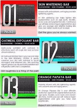 Frontrow 01 Skin Whitening Bar Soap Nutrition Amp Food
